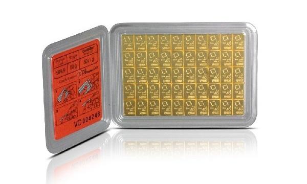 Combibar 50 X 1g Gold Bar Gold Bars 187 Esg Valcambi