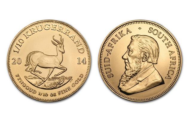 f9cc19b02 Krugerrand 1/10 Oz - Zlatá minca   Zlaté mince » 3Signa