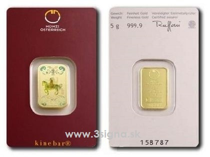 Münze österreich 5g Gold Bar Gold Bars 3signa