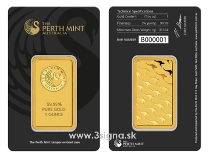 Perth Mint 1 Oz Gold Bar Gold Bars 187 Perth Mint 187 3signa