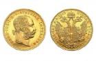 1 Dukát Österreich - Zlatá minca - 10 ks