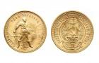 10 Rubeľ Tschervonec - Zlatá minca