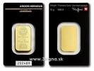 Argor Heraeus 10g - Zlatý zliatok