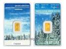Argor Heraeus 1g Winter 2017/18 - Zlatý zliatok