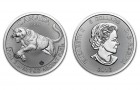 Cougar 2016 1 Oz - Strieborná minca