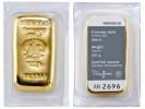 Heraeus 100g - Zlatý zliatok