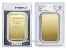Heraeus 50g - Zlatý zliatok