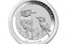 Kookaburra 2017 1 Oz - Stříbrná mince