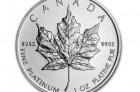 Maple Leaf 1 Oz - Platinová mince