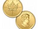 Maplegram25™ -  Zlatá minca 25 x 1g - 5ks