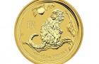 Monkey 2016 1/10 Oz - Zlatá minca