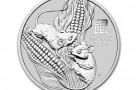 Mouse 2020 1 Oz - Strieborná minca
