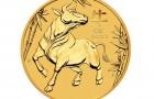 Ox 2021 1/2 Oz - Zlatá minca