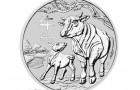 Ox 2021 1 Oz - Strieborná minca
