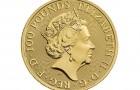 Queens Beasts Greyhound 2021 1 Oz - Zlatá minca