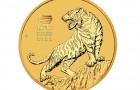 Tiger 2022 1 Oz - Zlatá mince