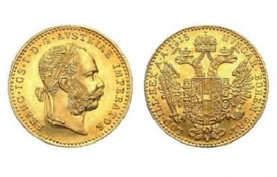 1 Dukát Österreich - Zlatá mince