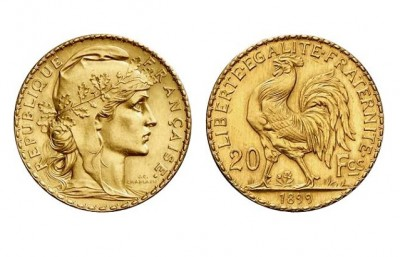 20 Frank Marianne - Gold Coin
