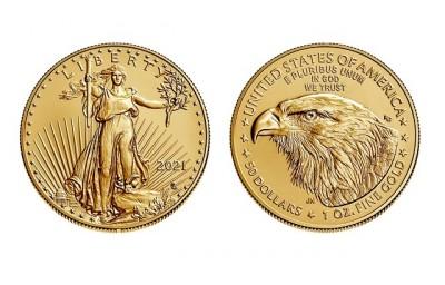 American Eagle 1 Oz Type 2 - Zlatá mince