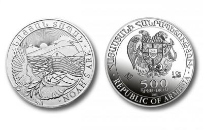 Arche Noah 1 Oz - Stříbrná mince
