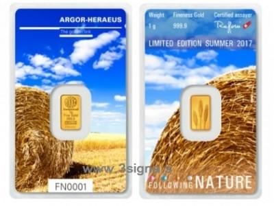 Argor Heraeus 1g Summer - Zlatý zliatok