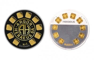 Argor Heraeus/Heraeus 10 x 1g - Gold Bar
