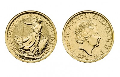 Britannia 1/2 Oz - Zlatá mince