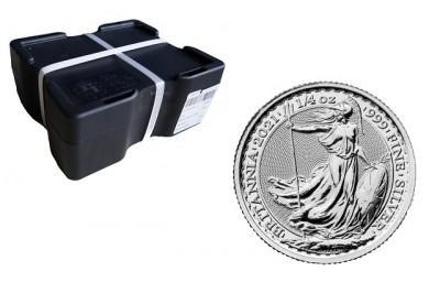 Britannia 1/4 Oz - Stříbrná mince - 380 ks