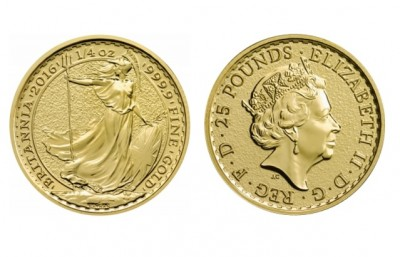 Britannia 1/4 Oz - Zlatá mince