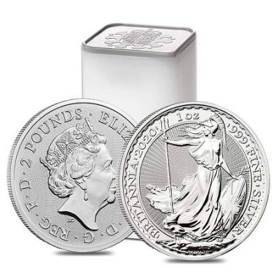 Britannia 1 Oz - Stříbrná mince - 25 ks