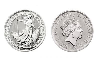 Britannia 1 Oz - Stříbrná mince