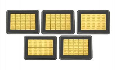 CombiBar 10 x 3,11g - Zlatý zliatok - 5 ks