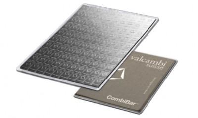 CombiBar 100 x 1g - Stříbrný slitek - 10 ks