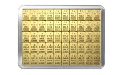CombiBar 50 x 1g - Zlatý slitek