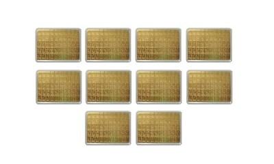 CombiBar 50 x 1g - Zlatý zliatok - 10 ks