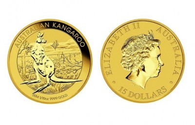 Kangaroo 1/10 Oz - Zlatá mince
