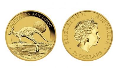 Kangaroo 1/4 Oz - Zlatá mince