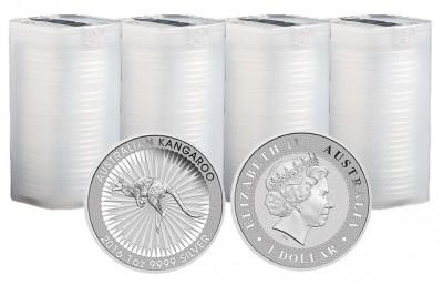 Kangaroo 2016 1 Oz - Stříbrná mince - 100 ks