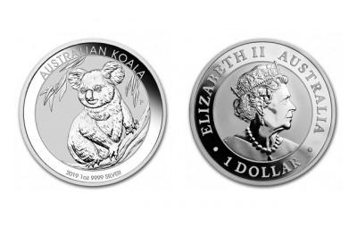 Koala 2019 1 Oz - Stříbrná mince