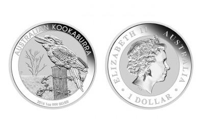 Kookaburra 2016 1 Oz - Stříbrná mince