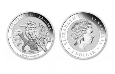 Kookaburra 2019 1 Oz - Stříbrná mince