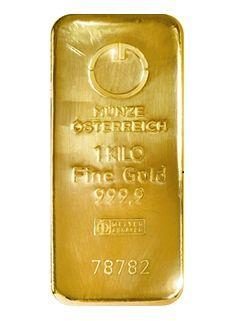 Münze Österreich 1 kilo - Zlatý slitek