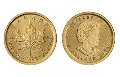 Maple Leaf 1/10 Oz  - Zlatá mince