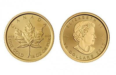 Maple Leaf 1/4 Oz - Zlatá mince