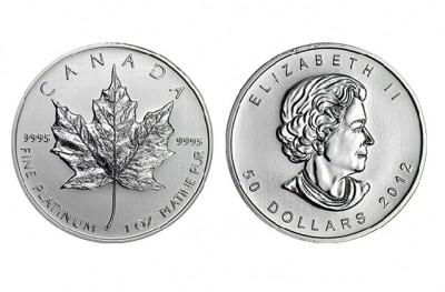 Maple Leaf 1 Oz - Platinum Coin