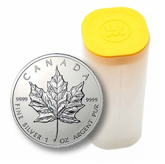 Maple Leaf 1 Oz - Stříbrná mince - 25 ks