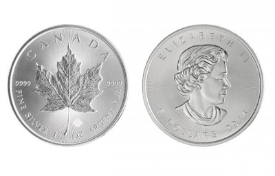 Maple Leaf 1 Oz - Stříbrná mince
