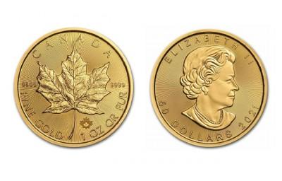 Maple Leaf 1 Oz - Zlatá mince