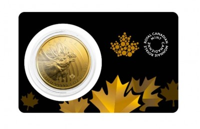 Moose 2019 1 Oz - Zlatá mince