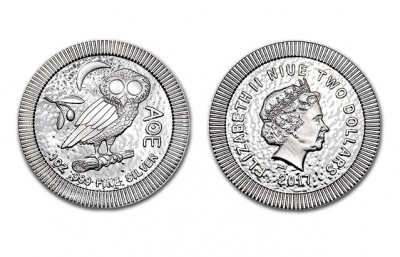 Owl 2017 1 Oz - Stříbrná mince